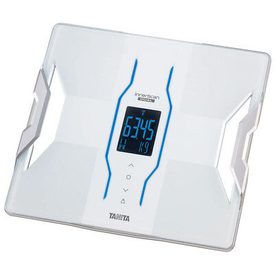 Tanita Bluetooth Body Composition Monitor Scale White Digital Display Weighing