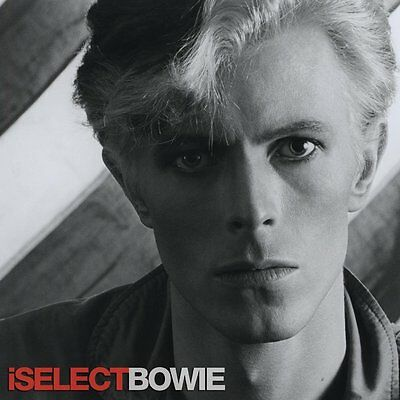 DAVID BOWIE – iSELECT BOWIE – RED VINYL LP – LIMITED EDITION (2014)