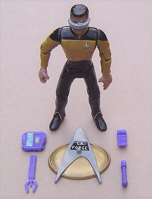 La Forge - Star Trek  - 1995 Playmates Toys - Bad condition