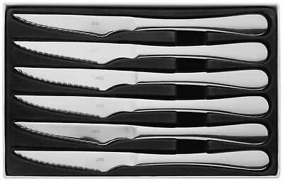 Judge Windsor Set of Six High Grade Stainless Steel Steak Knives Boxed