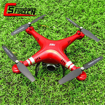 Wide Angle Lens HD Camera RC Drone WiFi FPV Live Helicopter Quadcopter Hover Red