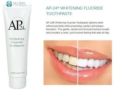 Nu Skin Ap-24 NuSkin AP24 Whitening Fluoride Toothpaste Authentic 110g 4oz NEW