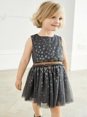3-6 months Next Baby Girl Dress Formal Dress Wedding Party Christening