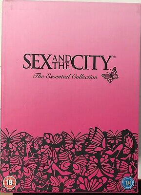 Sex And The City - Series 1-6 - Complete (DVD, 6-Disc Set) Missing Outer Sleeve