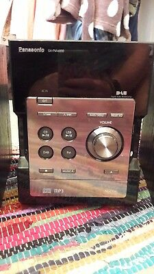 Panasonic Stereo System with Speakers - Good Condition