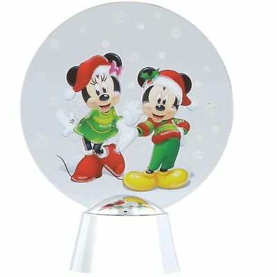 Disney Showcase 4058010 Mickey & Minnie Mouse Holidazzler Light Up