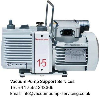 Vacuum Pump- BRAND NEW IN BOX- Edwards E2M1.5- 230v- 6 MONTHS WARRANTY - £850.00