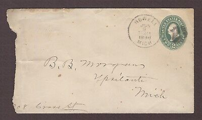 mjstampshobby 1898 US Vintage Cover Used (Lot4788)