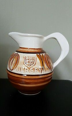 Vintage Jersey Pottery Cream/Milk Jug