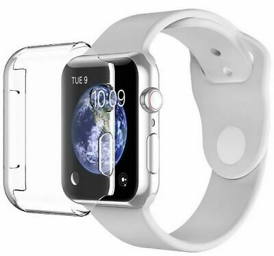 iWatch Tempered Film Screen TPU Protector Case for Apple Series 1/2/3/4