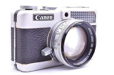 Rare!! Canon Demi C w/ SD 50mm f2.8 Lens From JAPAN