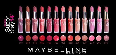 Superstay Rouge a levres Super Stay 14 H Gemey Maybelline