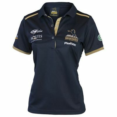 ACT Brumbies 2017 Rugby Union Ladies Training Polo Shirt BNWT Clothing