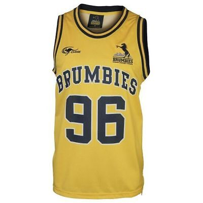 ACT Brumbies 2017 Rugby Union Mens Basketball Singlet BNWT Clothing
