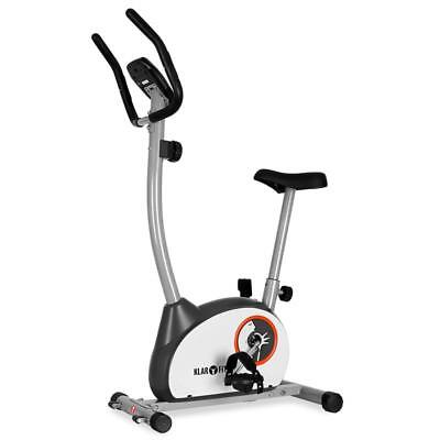Klarfit Mobi Basic 10 Exercise Fitness Bike Trainer & Digital Heart Rate Monitor