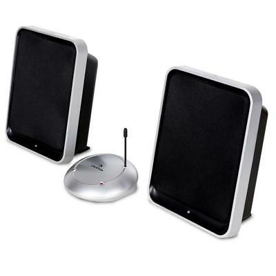 Auna Active Uhf Wireless Speakers Hifi Home Cinema Stereo Speaker Wireless