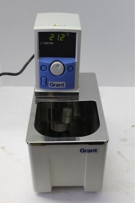 Grant GD100L Circulating Immersion Water Bath Used Tested Excellent Condition