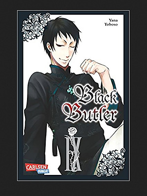 manga Black Butler vol.9 version allemande NEUF