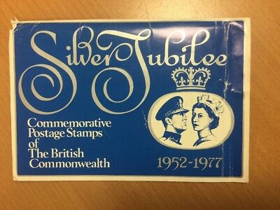 1977 Silver Jubilee Commemorative Postage Stamps Of The British Commonwealth