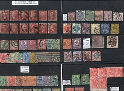 #291 GB QV 18.. E7 GV GVI collection misc on 15x cards