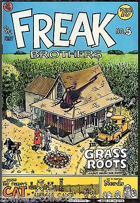 Freak Brothers 5 Rip Off Press 1977 Gilbert Shelton 1st print Underground Comix