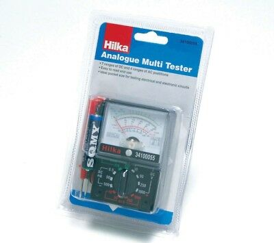 Hilka Pro Pocket Size Analogue Multi Meter Multi Tester Multimeter With Battery