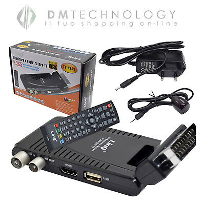 Decoder Digitale Terrestre Scart Con Hdmi Full Hd Con Codec H.265 (Hevc) Linq ..