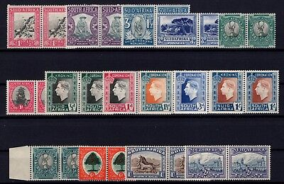 P38664/ South Africa / Pairs / Lot 1933 - 1939 Neufs * / Mh 177 €