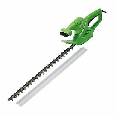 "Draper 600W 22"" 550Mm Blade Electric Tree Bush Hedge Trimmer Cutter Saw 45920"