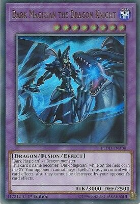Dark Magician the Dragon Knight x1 LEDD-ENA00 Ultra Rare Yugioh