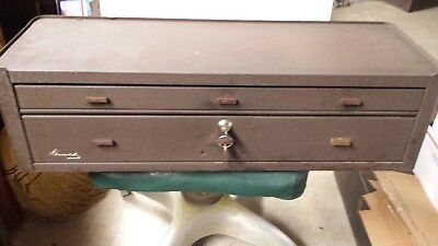 Kennedy MC - 28 two drawer machinst chest base for 526 tool box
