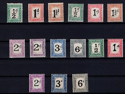 P38675/ South Africa / Postage Due / Sg # D8 / D21 Mh 86 €