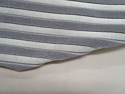 Pindler & Pindler Fabrics Pattern Borghese Color Pewter 3.8 Yd x 55 In Stripes