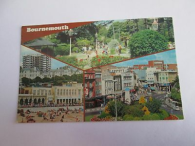 Postcard of Bournemouth (posted 1980)