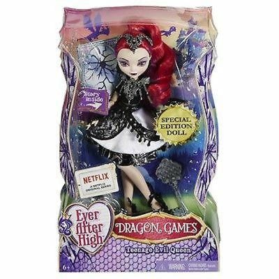 Ever After High Dragon Games: Teenage Evil Queen Doll Toy Brand New In Box