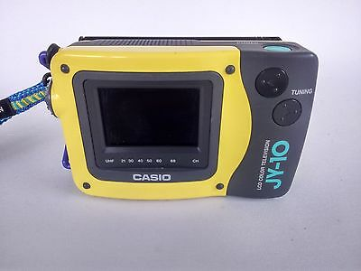 Casio JY-10 Portable Handheld LCD Colour Television