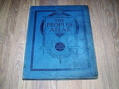 The Peoples' Atlas produced by Philips for Northern Echo after the Great War