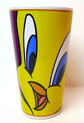 Yellow Tweety Bird Mug Tall Full Grip Handle Vintage