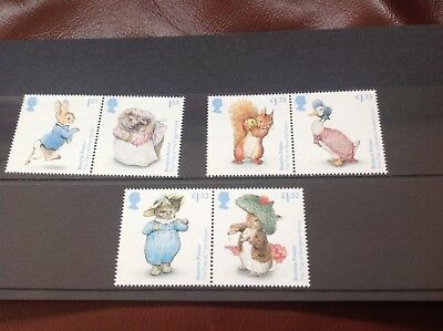 BEATRIX POTTER Collectors Stamp set.  ONLY £8.95!  Next day UK dispatch