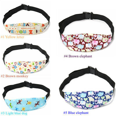 New Baby Head Fixing Support Holder Car Safety Kid Sleeping Belt Seat Belt  Band