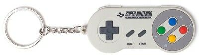 Super Nintendo SNES Rubber Keychain - Controller | Official Gaming Keyring New