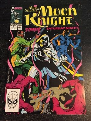 Marc Spector:Moon Knight#7 Incredible Condition 9.0(1989) Early Zombie!!