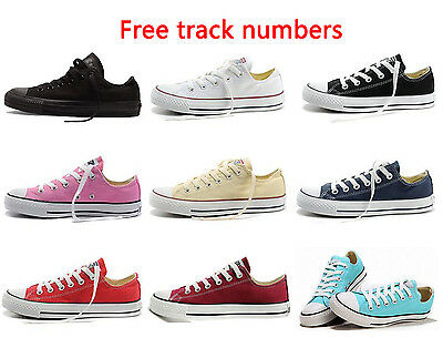 +AA 2017 New Women Lady ALL STARs Chuck Taylor Ox Low Top shoes Canvas Sneakers