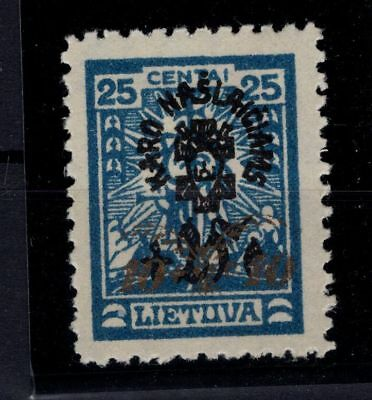 P35510 / Lituanie / Lithuania / Y & T # 244 Neuf * / Mint Mh 150 €