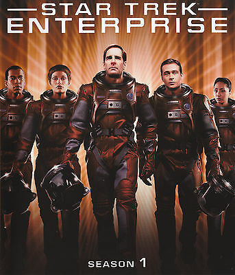 Star Trek Enterprise - Staffel Season 1 - Limited Collectors Edition Blu-ray OVP