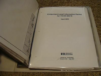 Agilent / HP 70120A Universal Counter- Component Level Information Packets CLIP