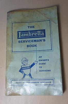 Lambretta rare but tatty 1st edition 160 page The Serviceman's book owners guide
