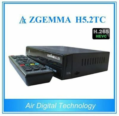 Genuine Zgemma H5.2TC FTA HD Tripl Tuner Watch One Record Two At Same Time.