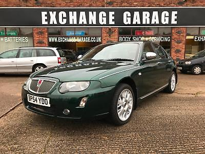 2005 Rover 75 1.8T Connoisseur SE British Racing Green