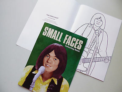 The Small Faces 67-68 Colouring Book Britpop Mod Psych